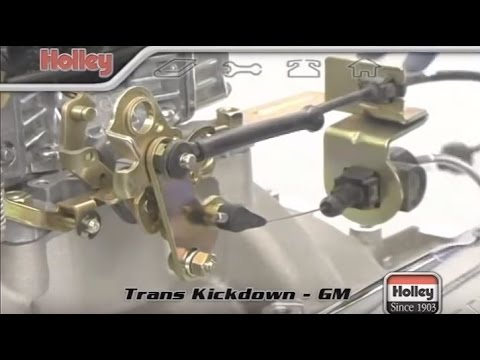 GM Transmission Kickdown and Throttle Valve TV Cable Assembly TH350 TH400 700R4 2004R  YouTube
