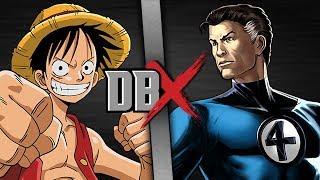 Luffy VS Mr Fantastic  DBX