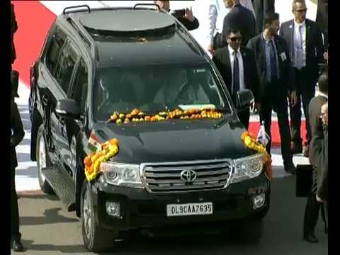 Ahmedabad gives a rousing reception to PM Modi and Israeli PM Netanyahu