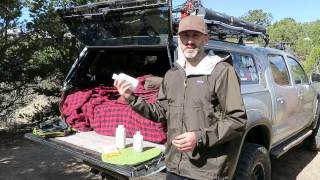 Truck Camping: Hygiene Tips