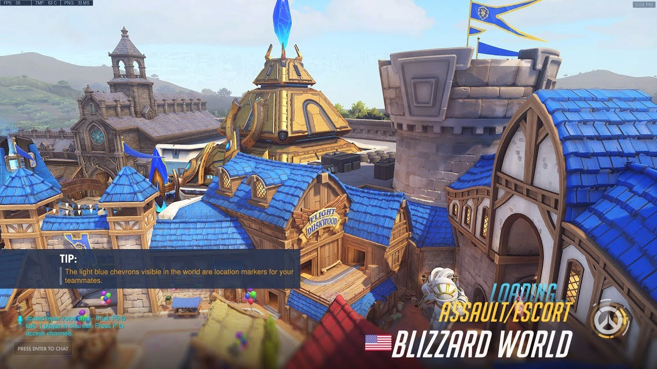 Blizzard World Map Exploration Overwatch Ptr 1 17 Youtube