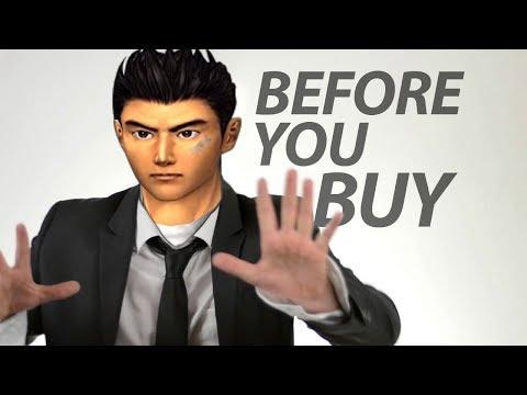 Shenmue 1 u0026 2 HD - Before You Buy