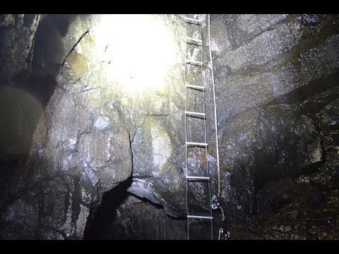 Abseil into Abandoned Mine Shaft ------ Scotland UK - Urban Exploration