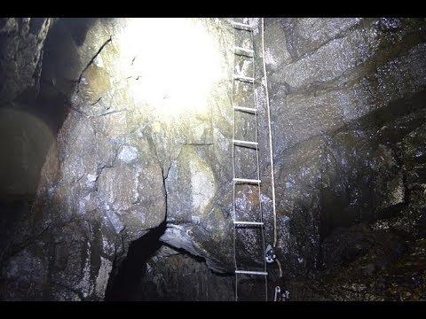 Abseil Into Abandoned Mine Shaft Scotland Uk