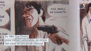 Une Histoire Corse: l'assassinat de Guy Orsoni en BD