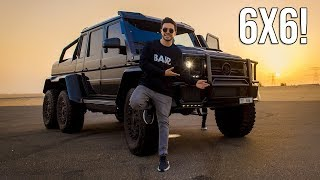 THE BEST TRUCK IN THE WORLD | MERCEDES G63 AMG BRABUS 6X6