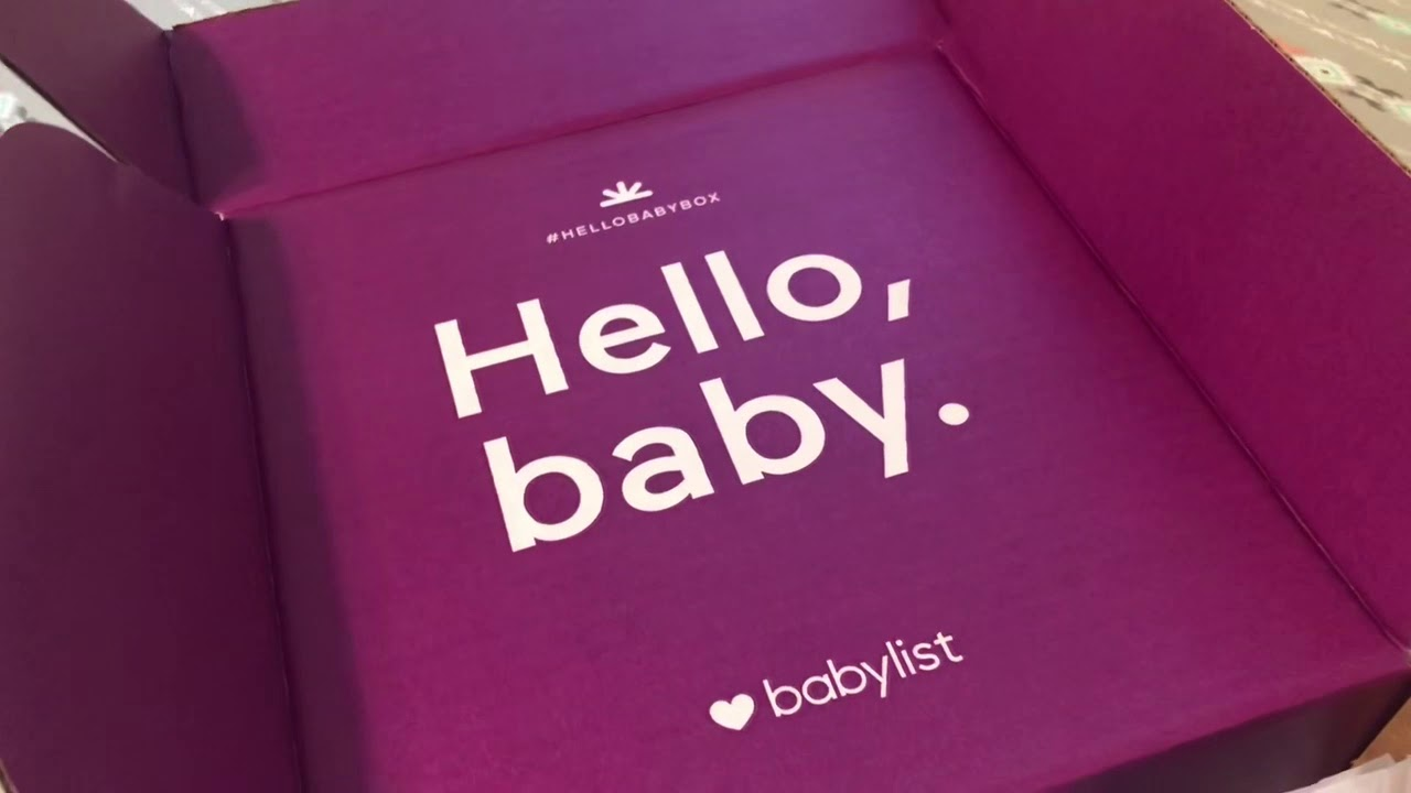 Free Baby Stuff!!!! | Baby list Registry Welcome Box ...