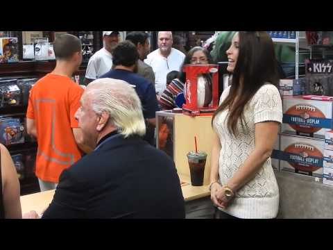 Ric Flair Celebrity Sports Signing