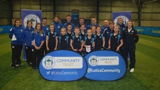 COMMUNITY: 2015 Wigan Athletic heats of the Football League Girls Cup