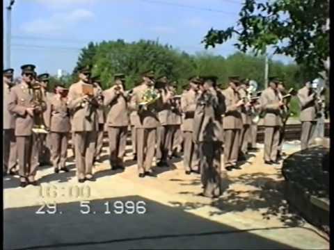 Inauguration Mémorial de la Déportation, Luxembourg Mai 1996 (archives Julien Coner)