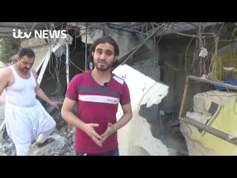 Children among dead in suspected chlorine gas attack in Aleppo