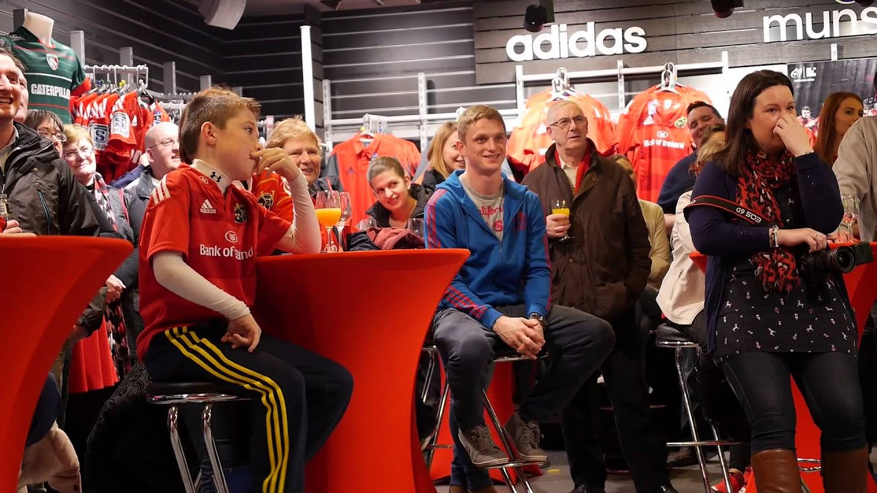 Opening of the Munster Rugby Store, Life Style Sports ...