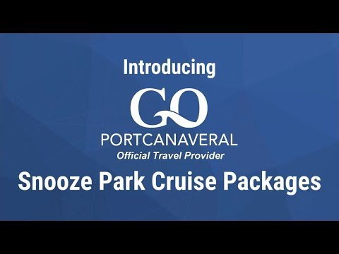 Snooze Park Cruise With Go Port Canaveral
