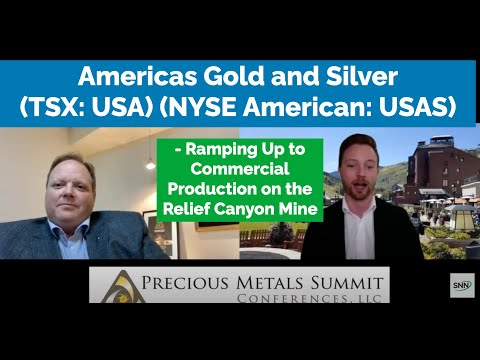 Americas Gold and Silver on Ramping Up to Commercial Production on the Relief Canyon Mine