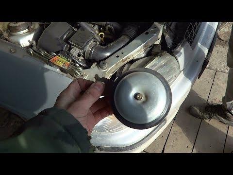 Замена звукового сигнала на Mazda Demio 1996-1999 год