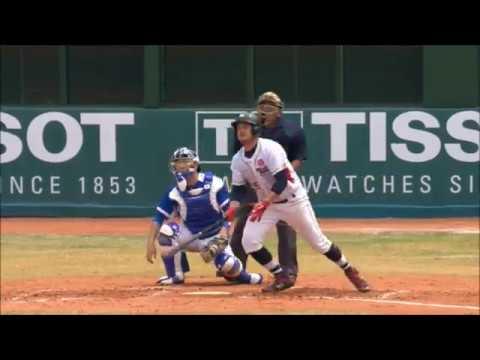 Asian Games 2018 Baseball - Holliday Homer, HKG V KOR