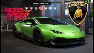 Need for Speed Payback - Lamborghini Huracan  - Vehicle Customization