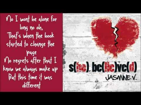 Jasmine V - Break Up Song Lyrics (NEW SONG 2011) S(HE) BE(LIE)VE(D)