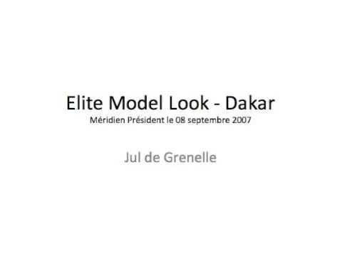 Elite Model Look - 08 septembre 2007 - Jul de Grenelle