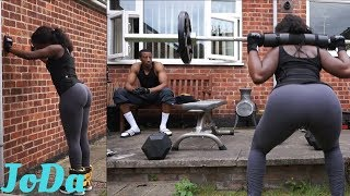 BOOTY WORKOUT AT HOME || DATES AND SLUGS || AD || VLOG 35