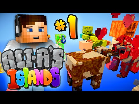 "Minecraft 1.9 - Ali-A's Islands #1 - ""NEW ADVENTURE!"""