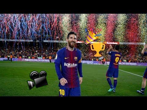 BARÇA 2- 2 MADRID | Player cam celebrations