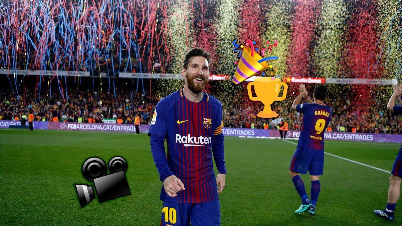 Barca   Madrid Player Cam Celebrations