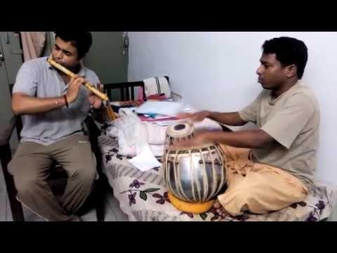 Malgudi days, Siddhartha Pandey (flute) , Sivakumar (Tabla) at IIT Roorkee
