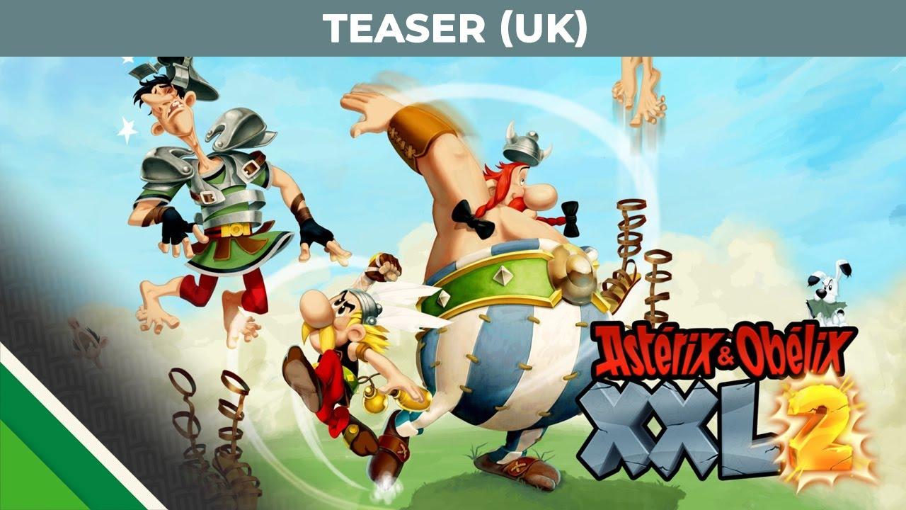 Asterix Obelix Xxl2 English Official Teaser Youtube
