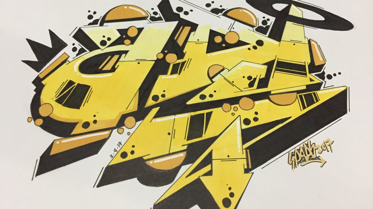 ADI | Graffiti Names | Speed Drawing - YouTube