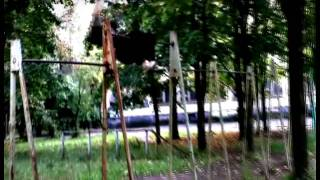 Элементы с фазой полета и соскоки (freerun, gymnastic)