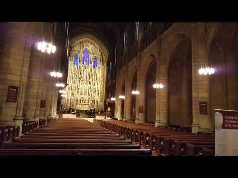 Saint Thomas Church Preparation for Concert