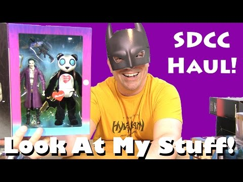 Look at my Stuff! - SDCC 2016 Toy Haul and Channel Update