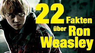 22 FAKTEN über Ron WEASLEY