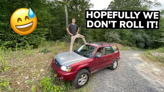 homepage tile video photo for SO... I BOUGHT A LIFTED FORESTER!