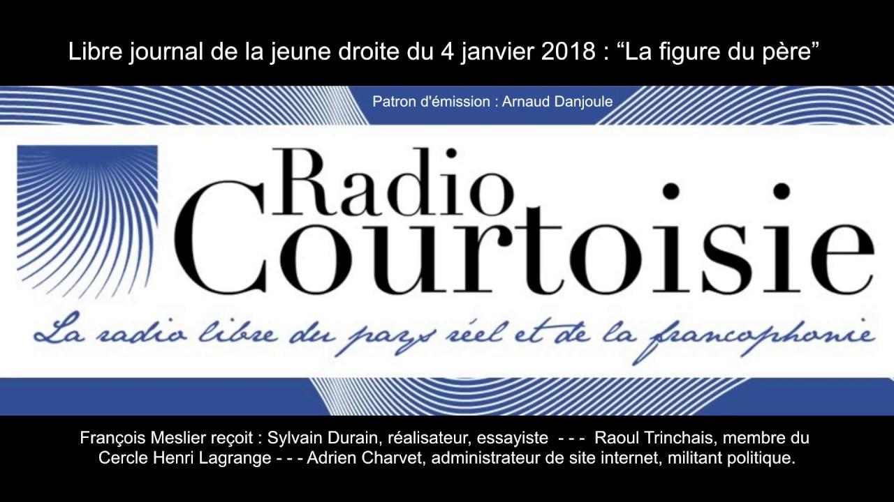 Sylvain Durain sur Radio Courtoisie :