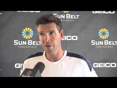 South Alabama post-match press conference - Men's Tennis Championship