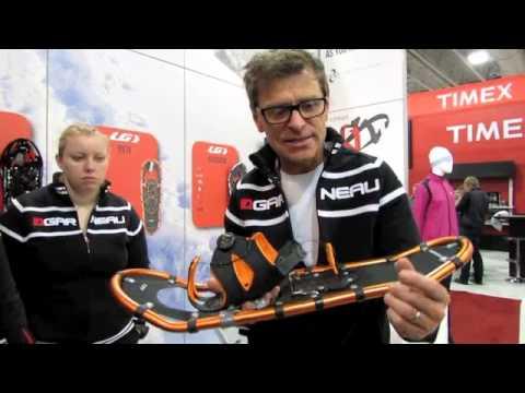 Louis Garneau Snowshoes with Pierre Perron