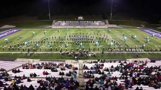 2015 UW-Whitewater Warhawk Marching Band