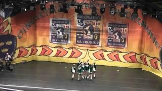 o gara school of irish dancing u10s performing at worlds 2016