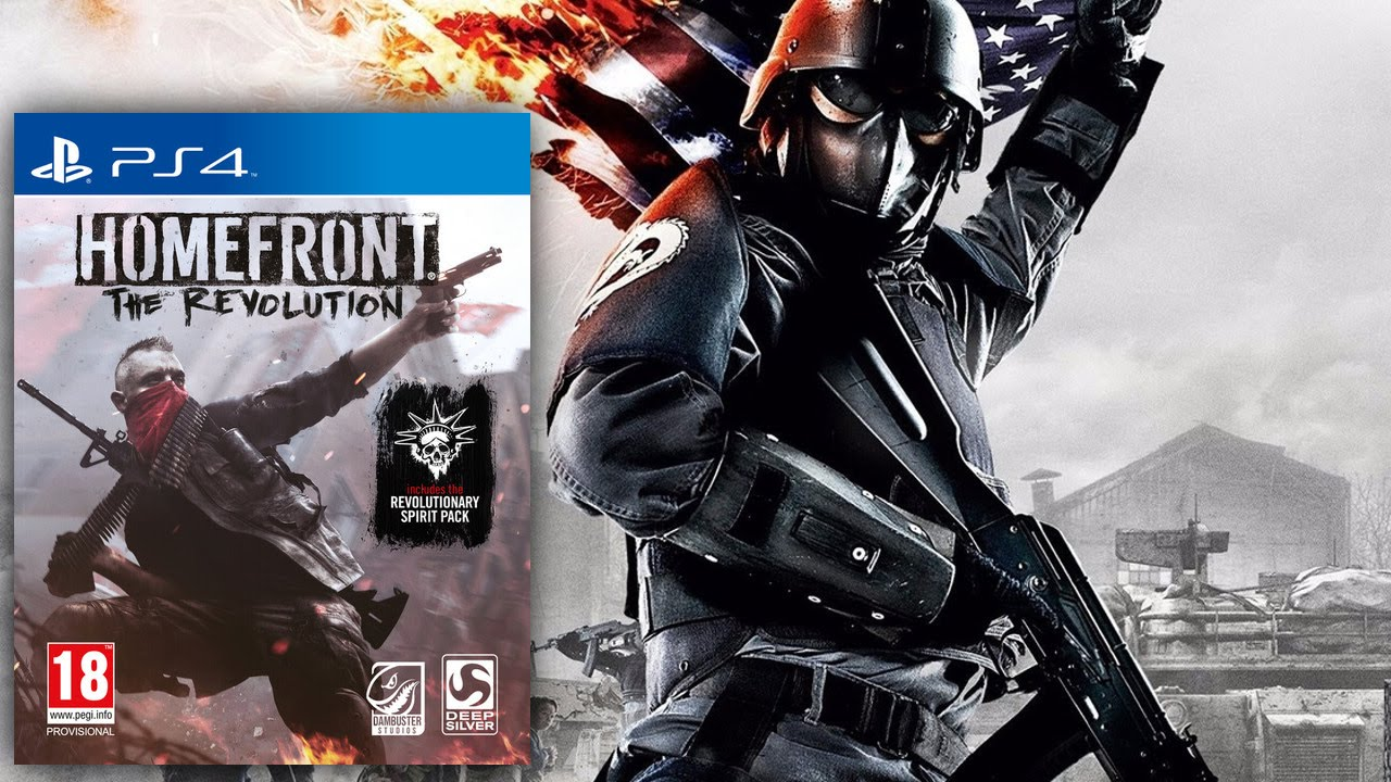 Parents' Guide to Homefront The Revolution PEGI 20