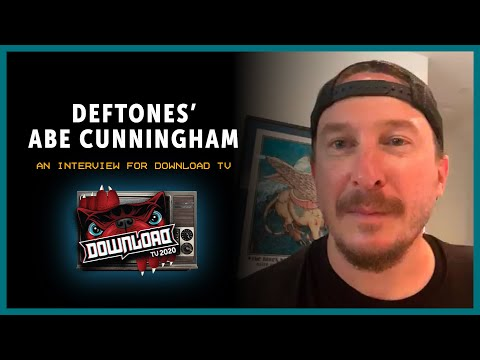 DEFTONES interview with Abe Cunningham for Download Festival TV!