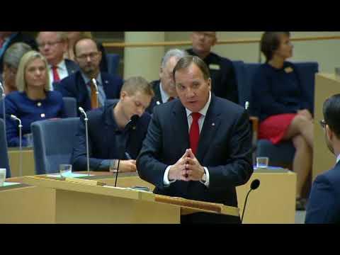 Partiledardebatt 2017: Jimmie Åkesson VS Stefan Löfven
