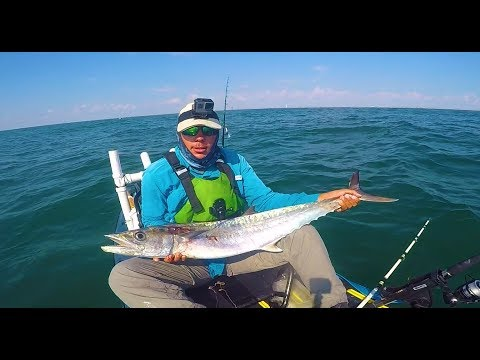 Catching BIG KINGS and NICE Spanish offshore Fishing in Corpus Christi Texas