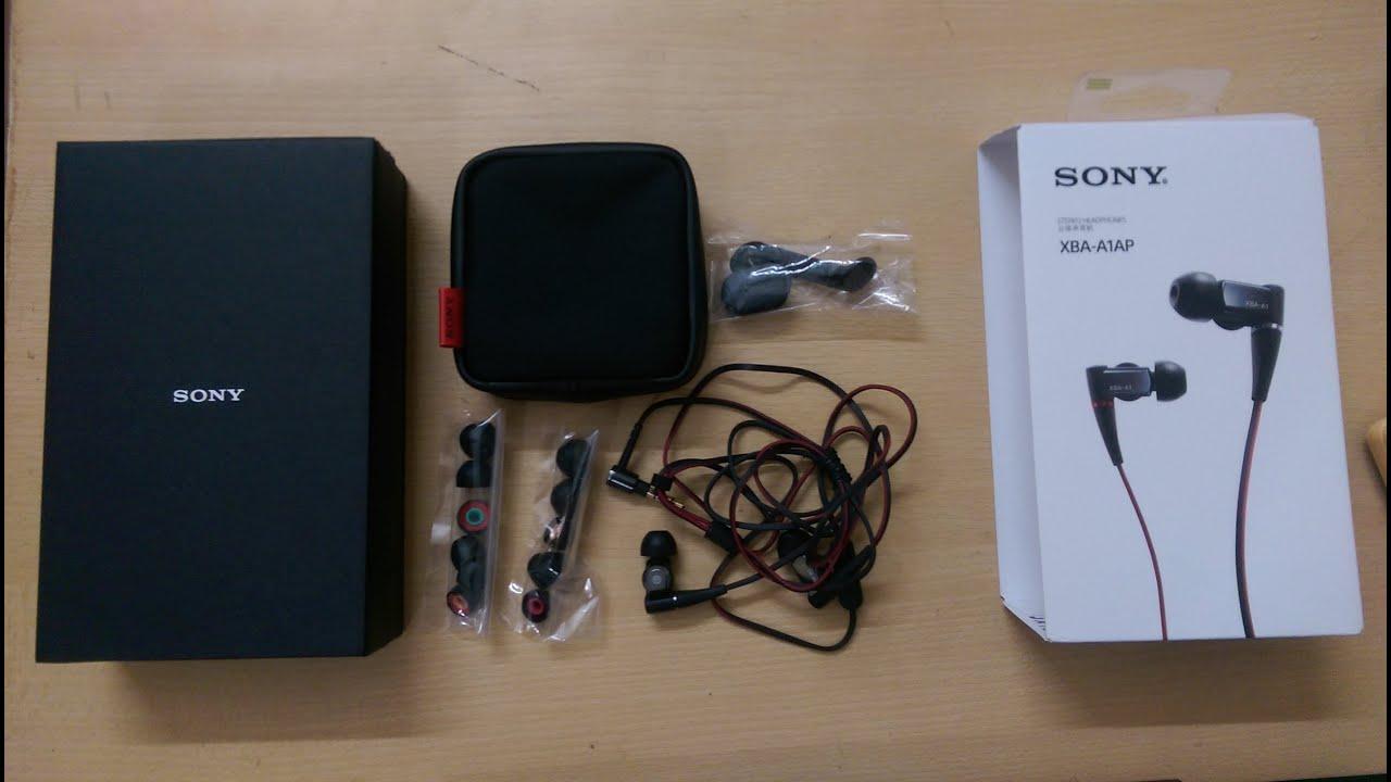 UNBOXING SONY XBA-N3 Earbuds (¥40,000-$430USD) ソニー高級イヤホン .