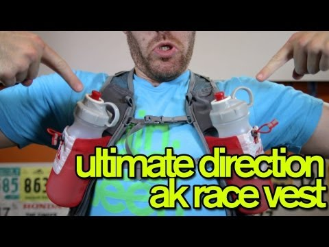 04eb58a2a8 ULTIMATE DIRECTION AK HYDRATION RACE VEST REVIEW - GingerRunner.com -  YouTube