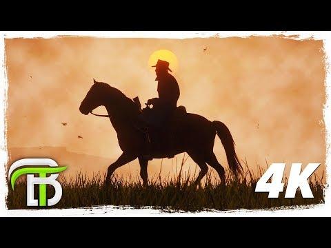 RED DEAD REDEMPTION 4k GAMEPLAY WALKTHROUGH #8 - COW SUICIDE. Sad.