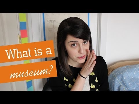 DIANA DOES MUSEUMS Sorta Answers: What is a museum??