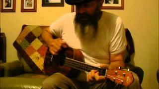 Burn One Down Ben Harper cover on baritone ukuele