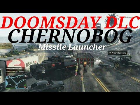 DOOMSDAY DLC  CHERNOBOG Missile Launcher REVIEW GTA 5 Online Live Stream